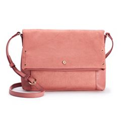 LC Lauren Conrad Suzy Solid Crossbody Bag