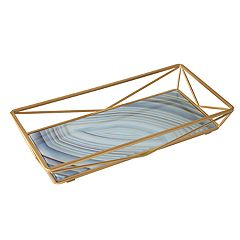 Home Details Agate Design Geometric Vanity Tray