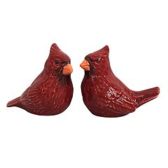 St. Nicholas Square® Yuletide Cardinal Salt & Pepper Shaker Set
