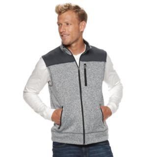 Men's SONOMA Goods for Life? Supersoft Modern-Fit Sweater Fleece Vest