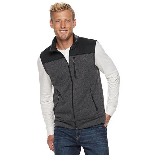 Men's SONOMA Goods for Life™ Supersoft Modern-Fit Sweater Fleece Vest