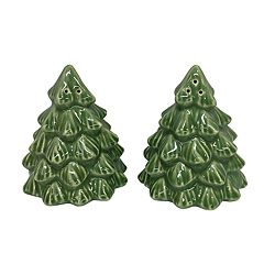 St. Nicholas Square® Yuletide Christmas Tree Salt & Pepper Shaker Set