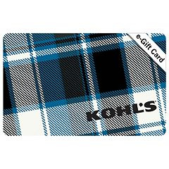 Blue Plaid E-Gift Card