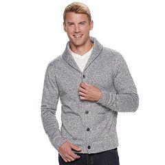 Men's SONOMA Goods for Life™ Supersoft Sweater Fleece Shawl-Collar Cardigan
