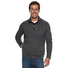 Men's SONOMA Goods for Life™ Sweater Fleece Quarter-Zip Pullover
