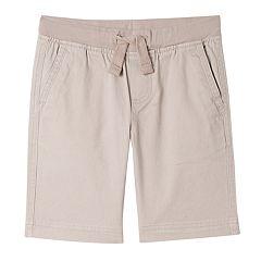 Boys 4-18 & Husky Chaps Knit-Waist Shorts