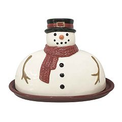 St. Nicholas Square® Yuletide Butter Dish