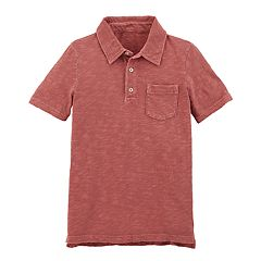 Boys 4-12 Carter's Dyed Pocket Polo