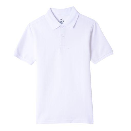 Boys 4-20 Chaps Stitch Polo