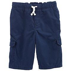 Boys 4-12 Carter's Khaki Cargo Shorts