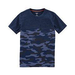 Boys 4-12 Carter's Camouflaged Pocket Tee