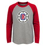 Boys 4-18 Los Angeles Clippers Fadaway Tee