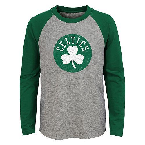 Boys 4-18 Boston Celtics Fadaway Tee