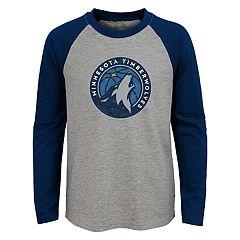 Boys 4-18 Minnesota Timberwolves Fadaway Tee