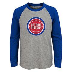 Boys 4-18 Detroit Pistons Fadaway Tee