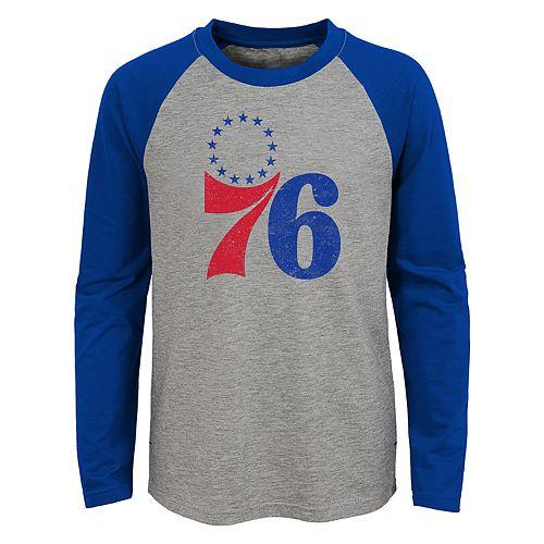 Boys 4-18 Philadelphia 76ers Fadaway Tee