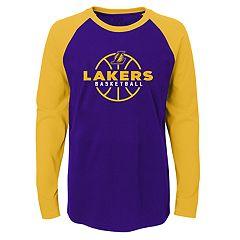 Boys 4-18 Los Angeles Lakers Destroyer Tee