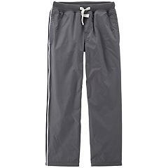 Boys 4-12 Carter's Matte Woven Athletic Pants