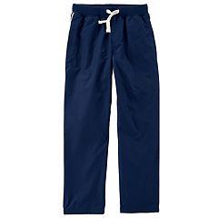 Boys 4-12 Carter's Matte Woven Athletic Pants