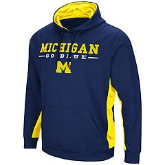 Men's Michigan Wolverines Setter Pullover Hoodie