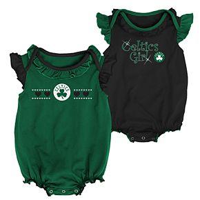Baby Girl Boston Celtics Homecoming Bodysuit Set