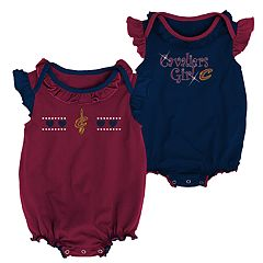 Baby Girl Cleveland Cavaliers Homecoming Bodysuit Set
