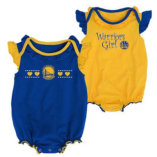2ffcda1d0a1 Baby Girl Golden State Warriors Homecoming Bodysuit Set