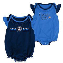 Baby Girl Oklahoma City Thunder Homecoming Bodysuit Set