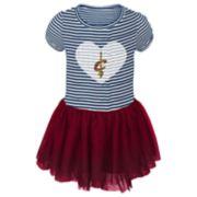 Toddler Girl Cleveland Cavaliers Sequin Tutu Dress