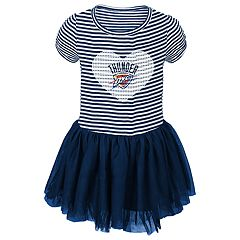 Baby Girl Oklahoma City Thunder Sequin Tutu Dress