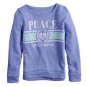 Girls 7-16 & Plus Size SO® Easy Crew Pullover Sweatshirt