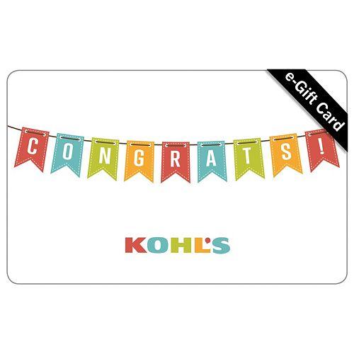 b3626f8dfd63 Congrats! E-Gift Card