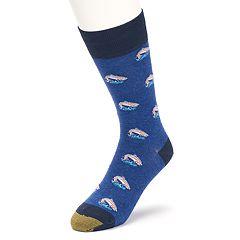 Men's GOLDTOE Rainbow Trout Novelty Socks