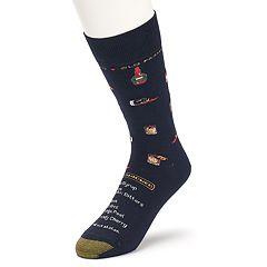 Men's GOLDTOE Old Fashioned Recipe Novelty Socks