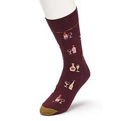 Men's GOLDTOE Wine Novelty Socks