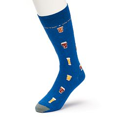 Men's GOLDTOE Tap Beer Novelty Socks