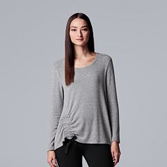 Women's Simply Vera Vera Wang Ruched Top