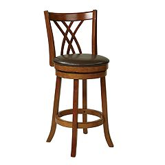 OSP Designs Traditional Swivel Bar Stool