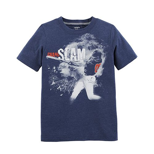 "Boys 4-12 Carter's ""Grand Slam"" Baseball Graphic Tee"