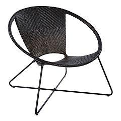 OSP Designs Navarre Round Lounge Accent Chair