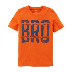 Boys 4-12 Carter's 'BRO' Graphic Tee