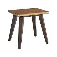 OSP Designs Oakridge Rustic End Table