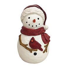 St. Nicholas Square® Yuletide Snowman Cookie Jar