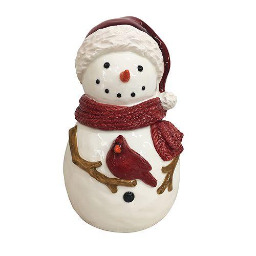 St. Nicholas Square® Yuletide Snowman Cookie Jar