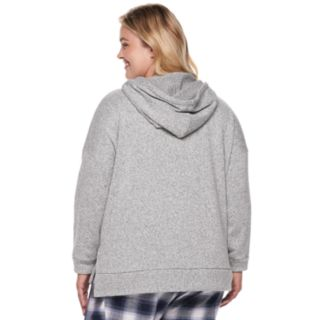 Plus Size SONOMA Goods for Life? Funnel Hoodie