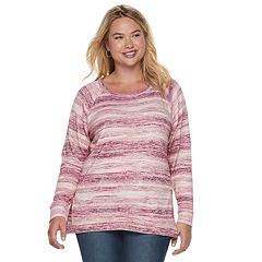 Plus Size SONOMA Goods for Life™ Supersoft Scoopneck Top