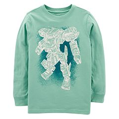 Boys 4-12 Carter's Robot Long Sleeves Graphic Tee