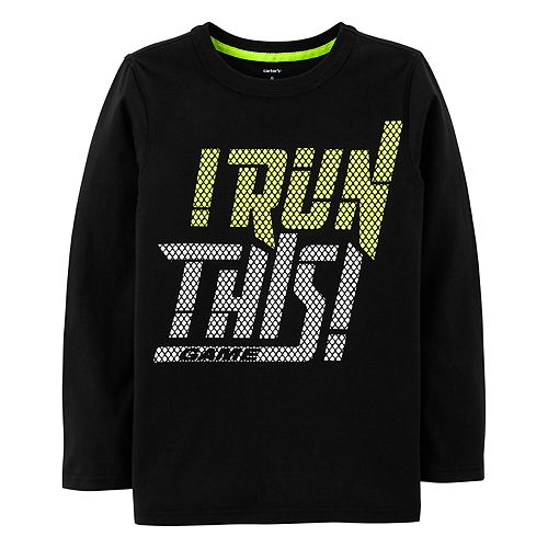 """Boys 4-12 Carter's """"I Run This Game! Graphic Tee"""