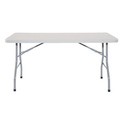 Work Smart Multi-Purpose Indoor / Outdoor Folding Table