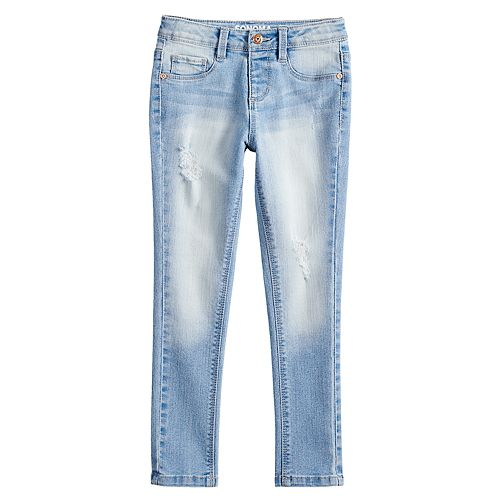 Girls 4-12 SONOMA Goods for Life™ Faded Skinny Jeans